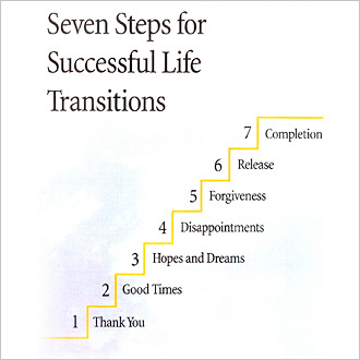 Workbook: 7 Steps For Successful Life Transitions – by Jane Elizabeth Hart